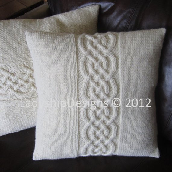 Best Of Cable Knit Pillow Cover Pattern Knit Pattern Pdf Celtic Knit Pillow Cover Pattern Of Amazing 45 Pics Knit Pillow Cover Pattern