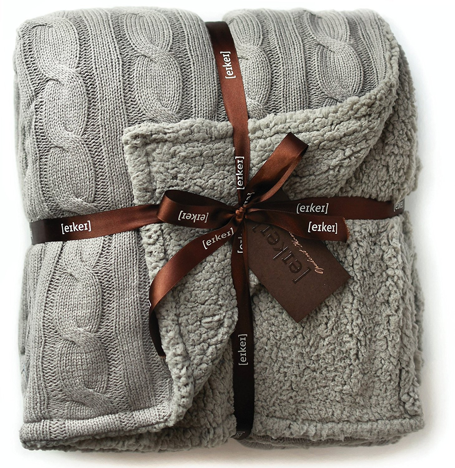 Best Of Cable Knit Reversible Sherpa Throw Blanket – [eikei] Cable Knit Sweater Blanket Of Incredible 50 Photos Cable Knit Sweater Blanket