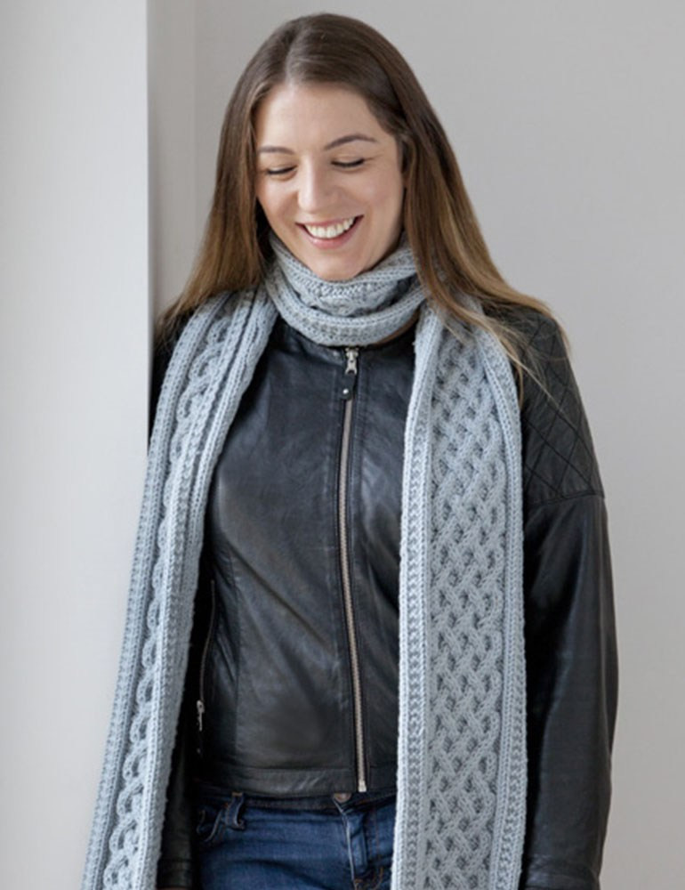 Cable Knit Scarf Pattern Top Find This Pin And More