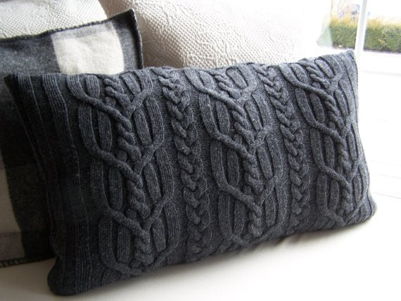 Best Of Cable Knit Sweater Pillow Cover Gray Cardigan Sweater Cable Knit Pillow Cover Of Top 41 Pictures Cable Knit Pillow Cover