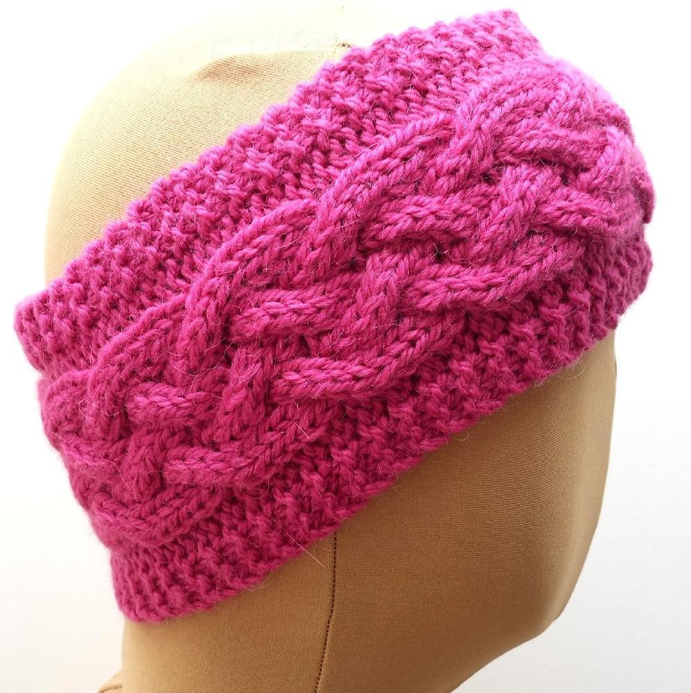 Best Of Cabled Ear Warmer Headband Knitting Pattern by Knit Ear Warmer Pattern Of Great 46 Photos Knit Ear Warmer Pattern