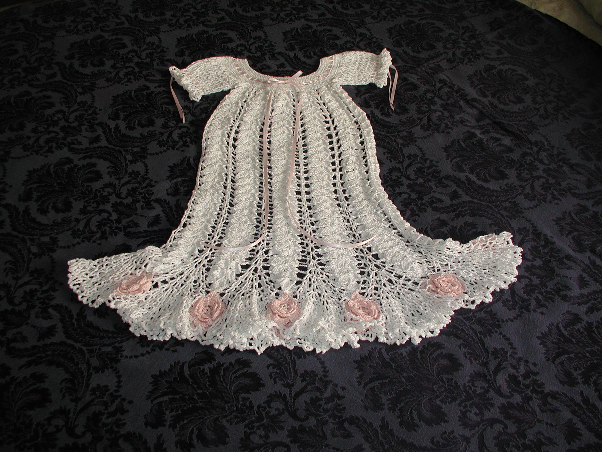 Best Of Cameo Rose Christening Gown Crochet Project by Karen B Christening Dress Patterns Of Awesome 43 Ideas Christening Dress Patterns
