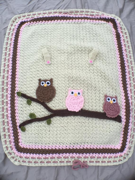Car Seat Cover Baby Seat Cover Crochet Seat Cover by