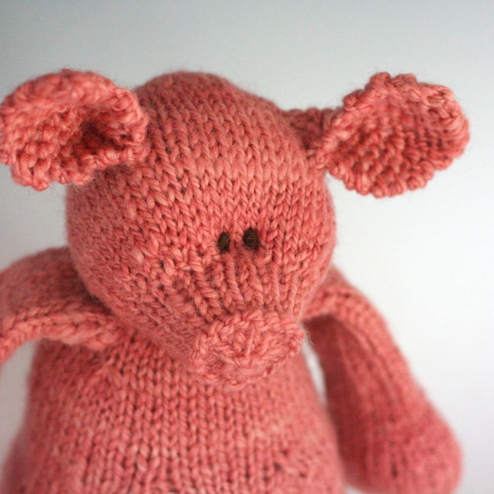 Best Of Carnation Piggy Jacob Wool Hand Knit Stuffed Animal Knit Stuffed Animals Of Beautiful 47 Pics Knit Stuffed Animals