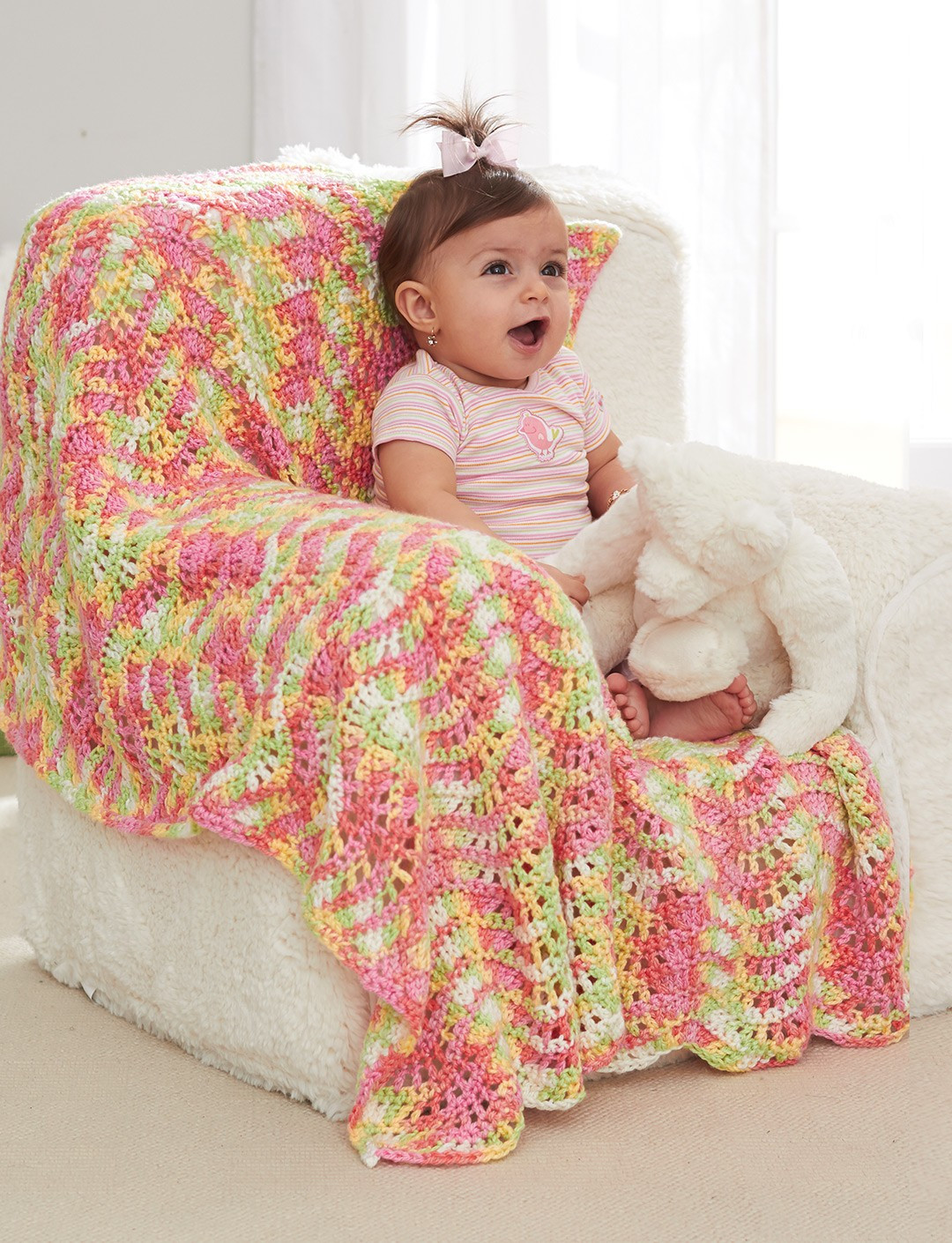 Best Of Caron Baby Waves Blanket Crochet Pattern Caron Crochet Patterns Of Perfect 43 Pictures Caron Crochet Patterns
