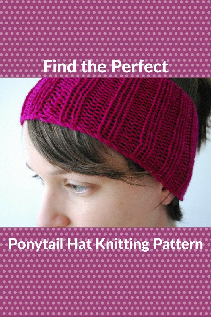 Best Of Catching the Trend Ponytail Hat Knitting Patterns Free Knitting Pattern for Ponytail Hat Of Delightful 43 Models Free Knitting Pattern for Ponytail Hat
