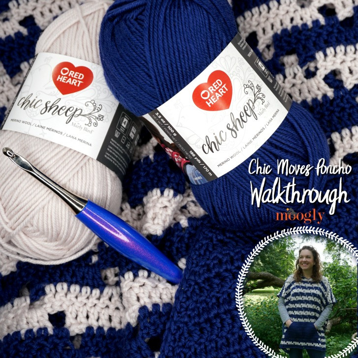 Best Of Chic Moves Poncho Walkthrough Moogly Video Tutorials Red Heart Chic Sheep Yarn Of Charming 41 Images Red Heart Chic Sheep Yarn
