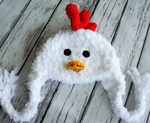 Best Of Chicken Hat Baby Hat Baby Chicken Hat Chicken by Jojosbootique Baby Chicken Hat Of Best Of Newborn Baby Chick Hat Baby Chicken Hat