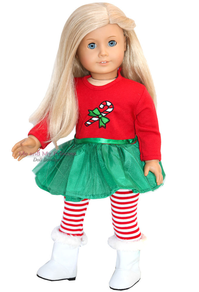 Best Of Christmas Dress Leggings Boots Outfit for 18 Inch American Girl Christmas Dress Of Lovely 47 Models American Girl Christmas Dress
