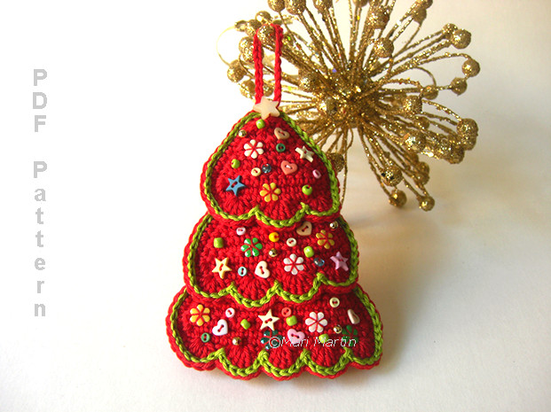 Best Of Christmas ornament Tree and Coasters Pattern Crochet Crochet Christmas Tree ornaments Of Innovative 41 Photos Crochet Christmas Tree ornaments
