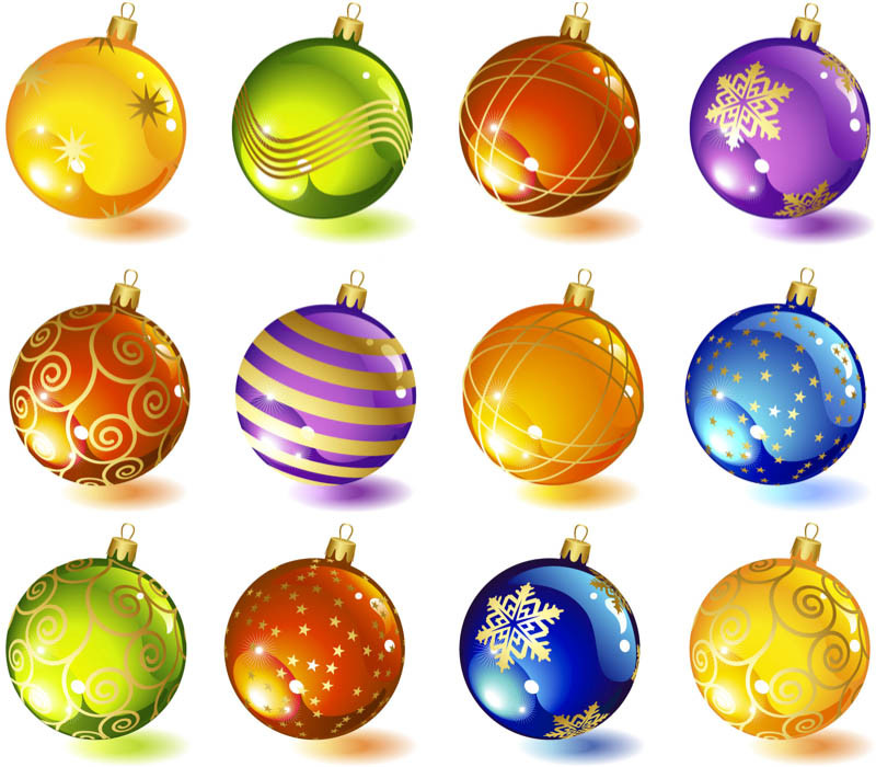 Best Of Christmas Tree Glass Ball ornaments Vector Christmas Tree Balls Of Wonderful 50 Pictures Christmas Tree Balls