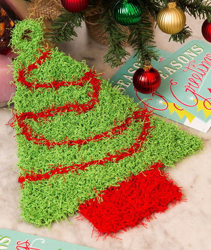 Best Of Christmas Tree Knit Scrubby Scrubby Yarn Knit Patterns Of Luxury 40 Ideas Scrubby Yarn Knit Patterns