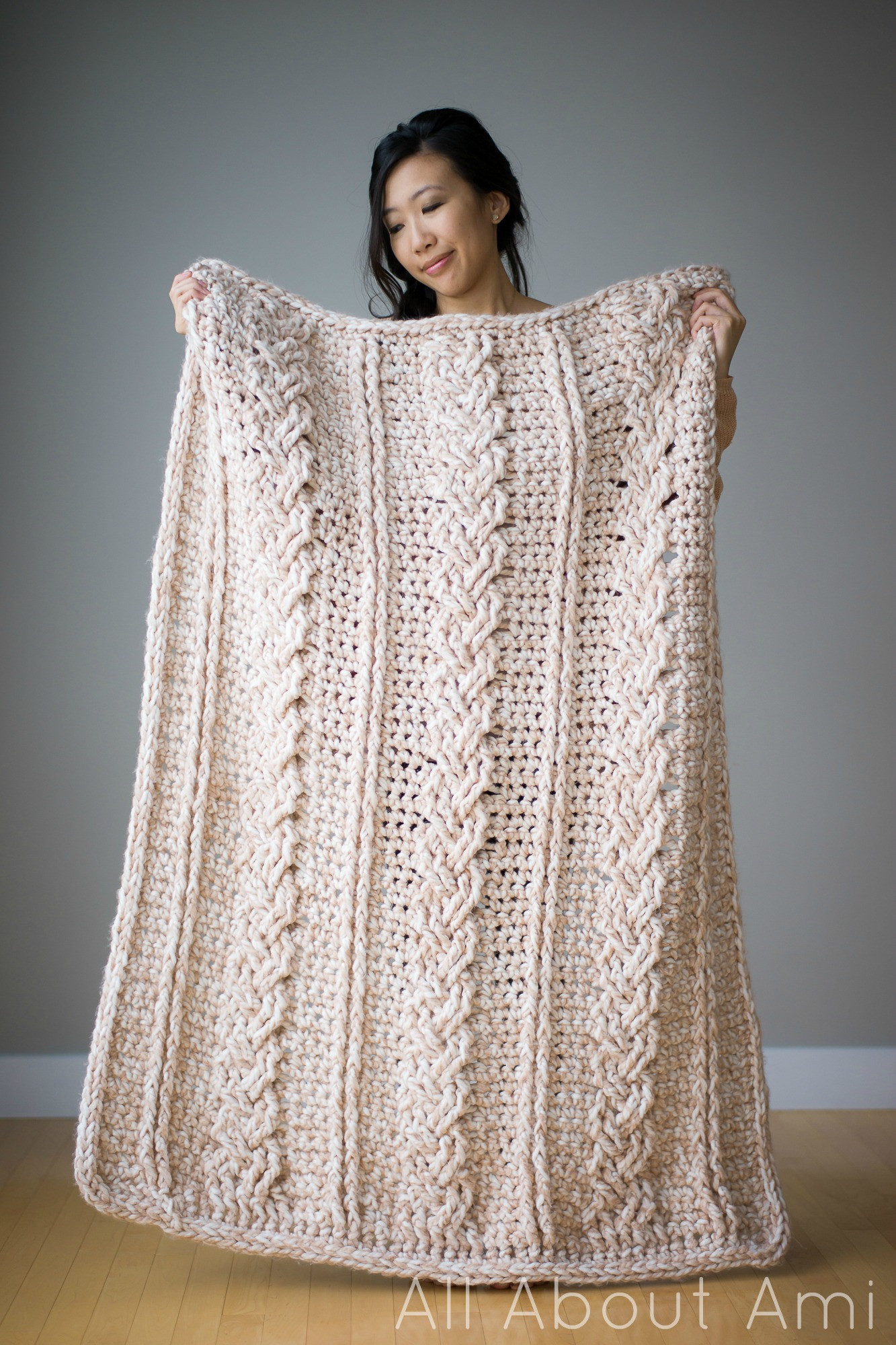 Best Of Chunky Braided Cabled Blanket All About Ami Crochet Cable Blanket Of Lovely 46 Models Crochet Cable Blanket