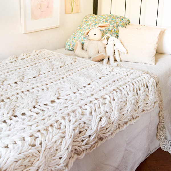 Best Of Chunky Cable Knit Throw Chunky Knit Blanket Kit Of Amazing 46 Images Chunky Knit Blanket Kit