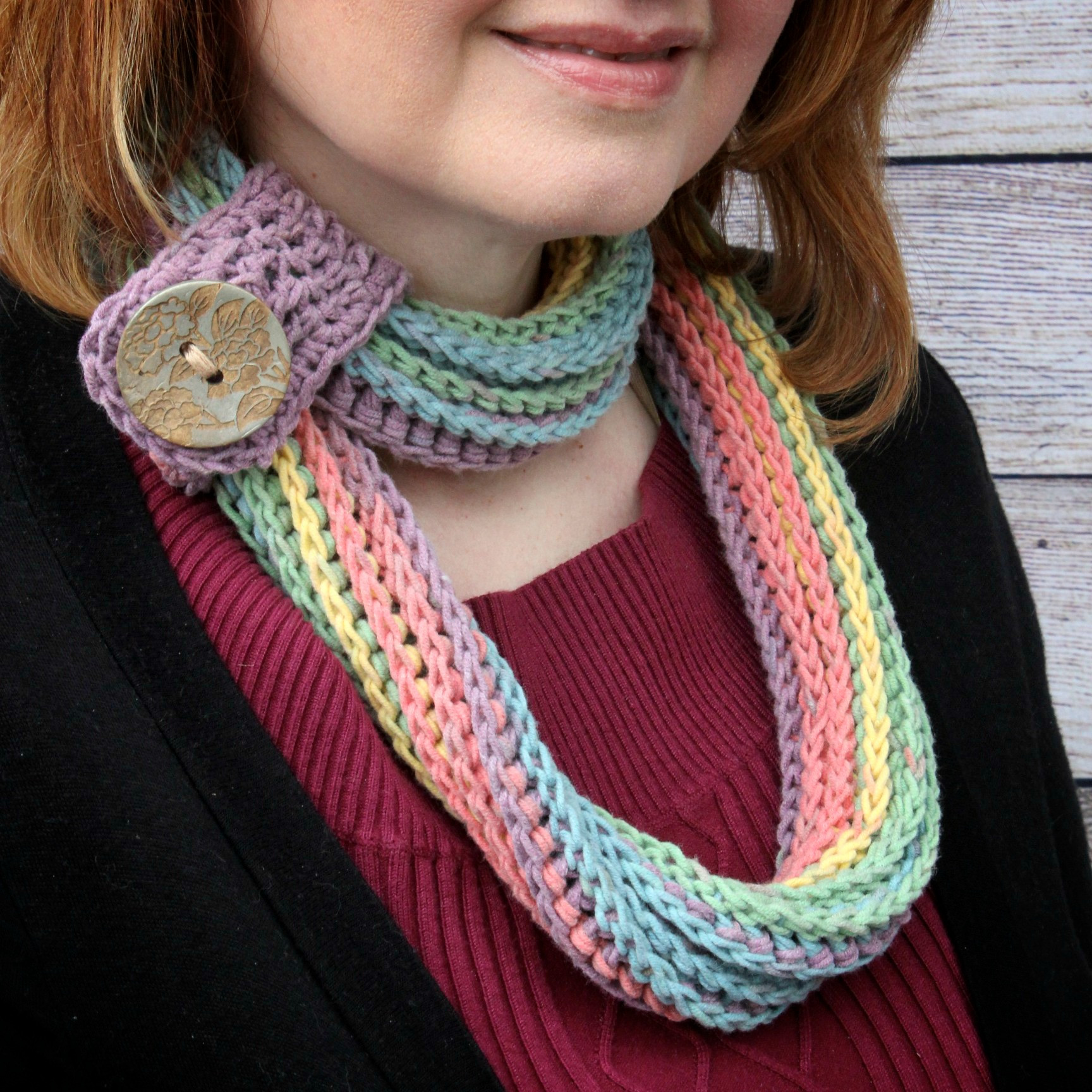Best Of Coiling Colors Cowl Free Crochet Pattern Featuring Caron Caron Cotton Cakes Patterns Of Beautiful 45 Images Caron Cotton Cakes Patterns
