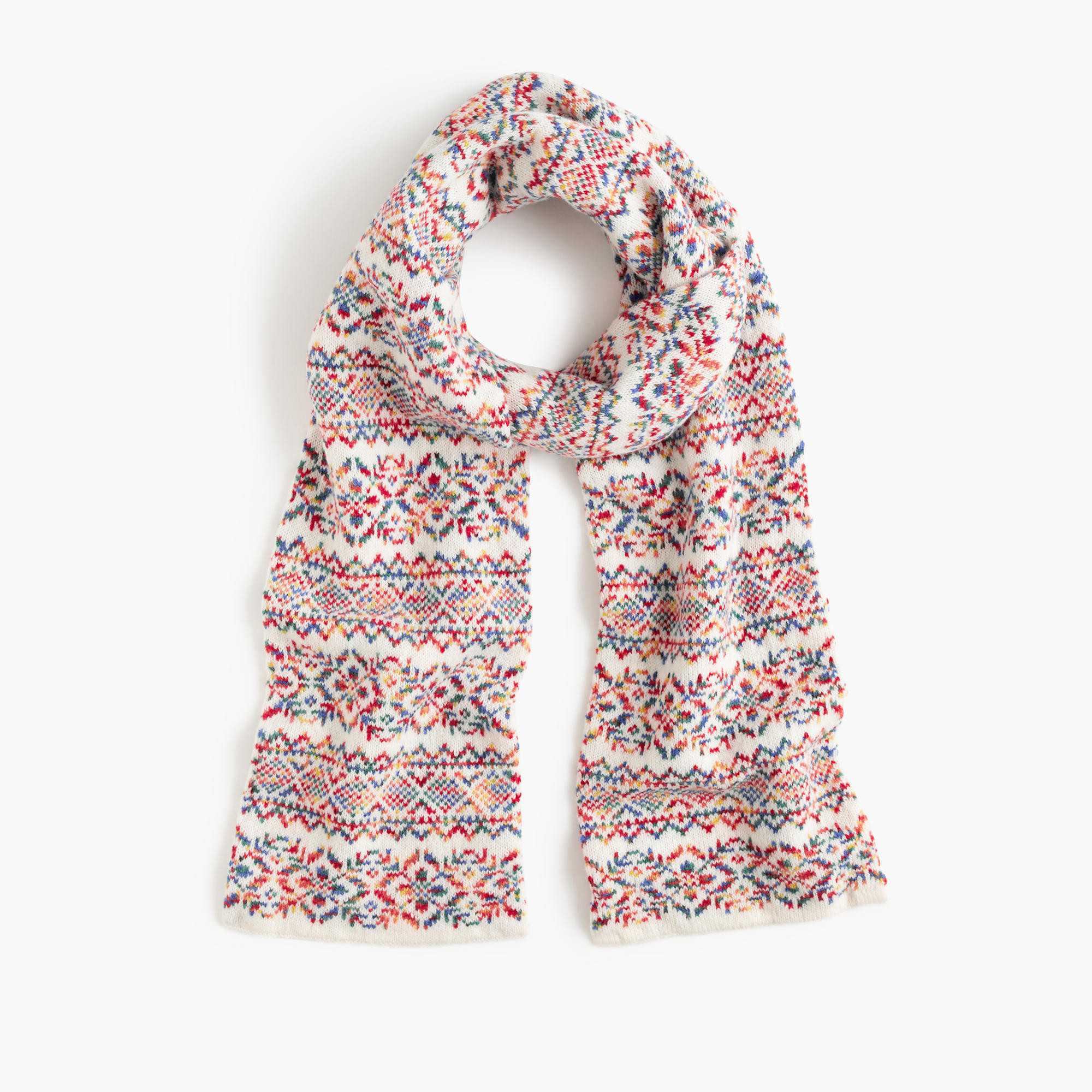 Best Of Colorful Fair isle Scarf Women S Scarves Fair isle Scarf Of New 40 Pics Fair isle Scarf