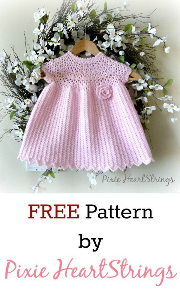 Best Of Cool Crochet Patterns & Ideas for Babies Hative Crochet Dress for Baby Of Amazing 42 Photos Crochet Dress for Baby