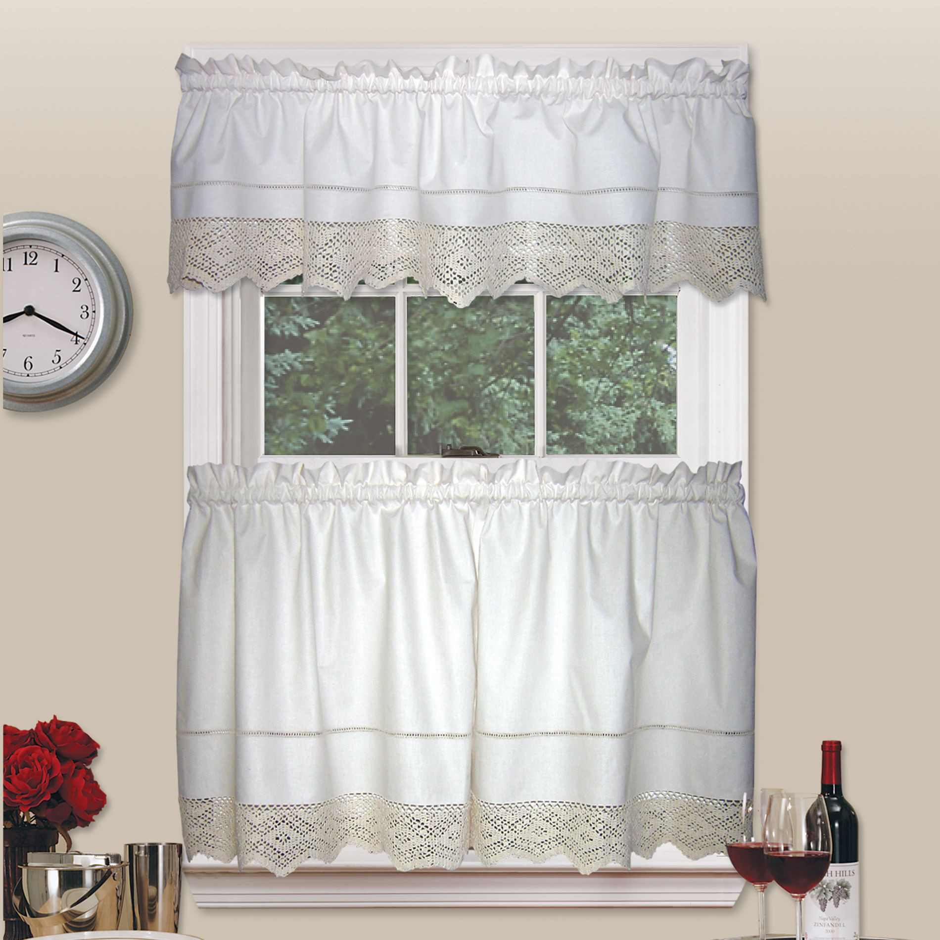 Best Of Country Living Heirloom Crochet Tier Pair Crochet Curtains Of Marvelous 47 Pictures Crochet Curtains
