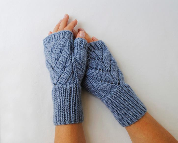 Best Of Craftdrawer Crafts Free Knit A Pair Of Leaves Fingerless Knitting Crafts Of New 44 Models Knitting Crafts