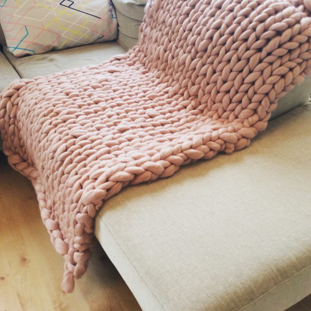 Best Of Creative Diy Knitted Giant Blanket Of Wool for Cold Days Large Knit Blanket Diy Of Beautiful 44 Ideas Large Knit Blanket Diy