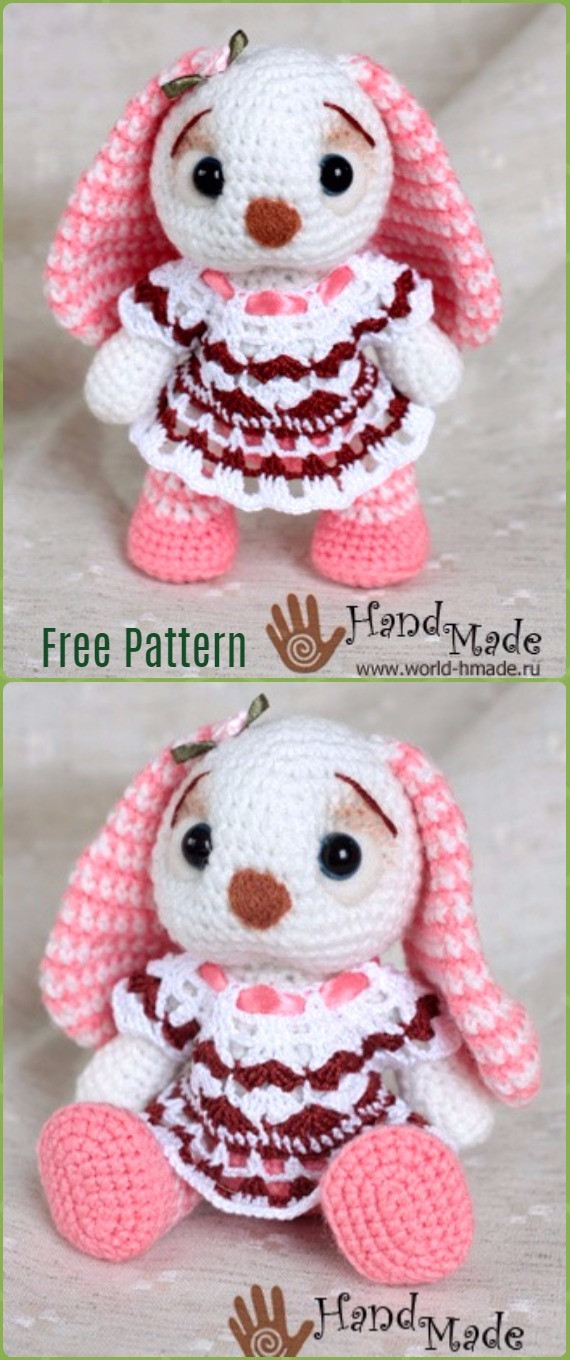 Best Of Crochet Amigurumi Bunny toy Free Patterns Instructions Free Crochet toy Patterns Of Innovative 46 Photos Free Crochet toy Patterns