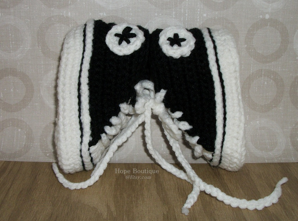 Best Of Crochet Baby Booties Converse Pattern Dancox for Crochet Converse Baby Booties Of Wonderful 41 Models Crochet Converse Baby Booties