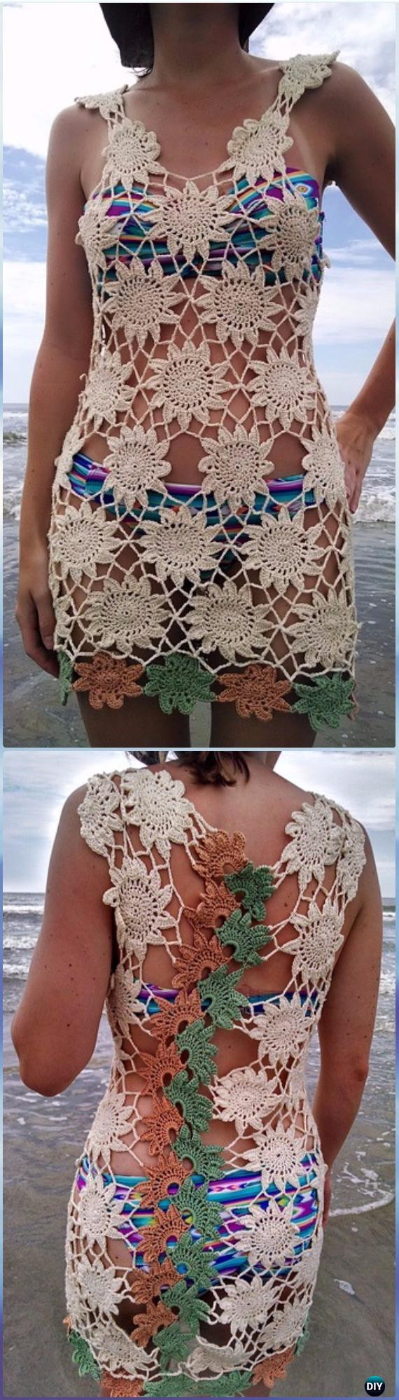 Best Of Crochet Beach Cover Up Free Patterns Women Summer top Crochet Beach Cover Up Patterns Of Adorable 47 Models Crochet Beach Cover Up Patterns