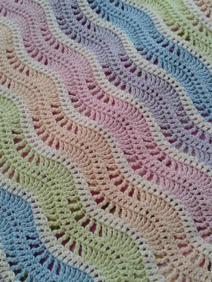 Best Of Crochet Blanket Cool Breeze Ripple Afghan [pattern Crochet Crowd Baby Blanket Of Brilliant 40 Photos Crochet Crowd Baby Blanket
