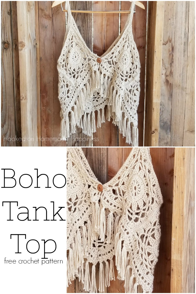 Best Of Crochet Boho Tank top Boho Crochet Patterns Free Of Delightful 45 Photos Boho Crochet Patterns Free