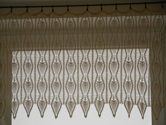 Best Of Crochet Curtain Lace Window Valance Crochet Curtain Patterns Of Contemporary 49 Ideas Crochet Curtain Patterns