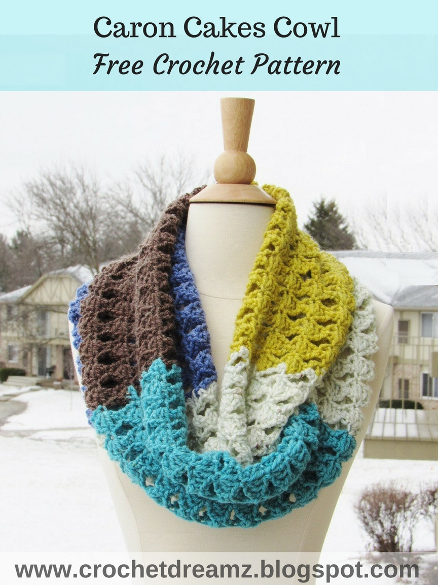 Best Of Crochet Dreamz Caron Cakes Infinity Scarf Crochet Pattern Caron Cakes Crochet Patterns Free Of Marvelous 40 Pictures Caron Cakes Crochet Patterns Free