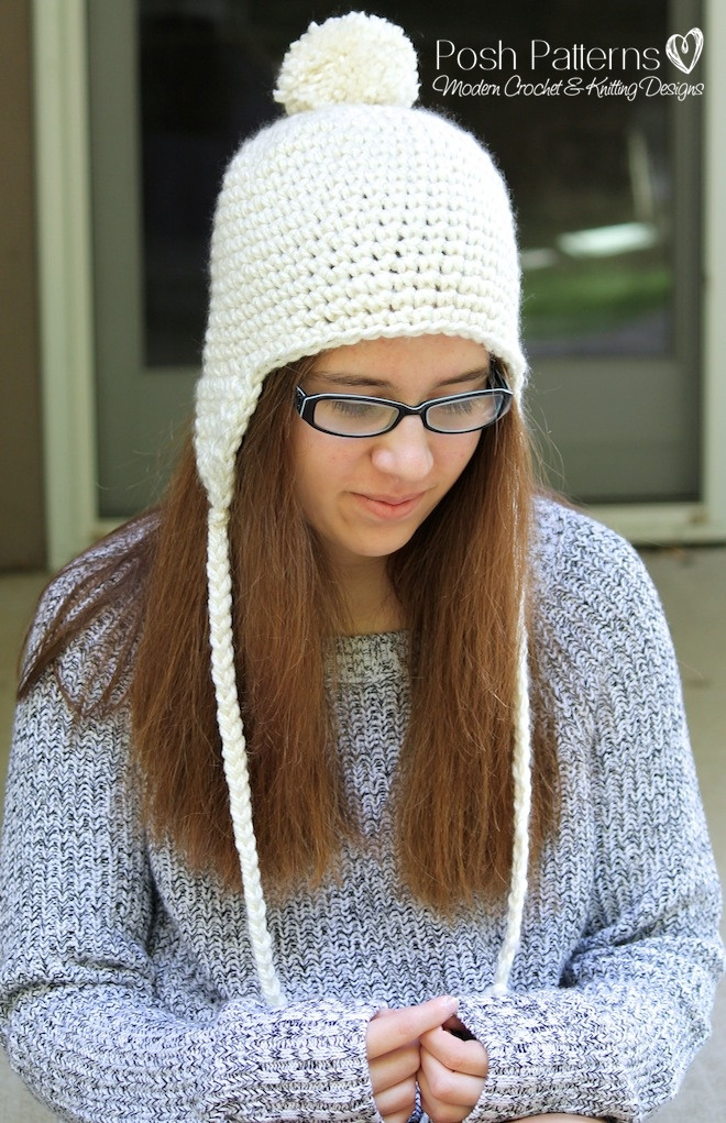 Best Of Crochet Earflap Hat Pattern Earflap Hat Crochet Pattern Of Wonderful 43 Images Earflap Hat Crochet Pattern