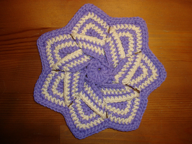 Best Of Crochet Flower Hot Pad Crochet Hot Pad Pattern Of Awesome 35 Pictures Crochet Hot Pad Pattern