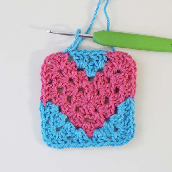 Best Of Crochet Heart Pattern Free Granny Square Tutorial by Heart Granny Square Of Brilliant 41 Pictures Heart Granny Square