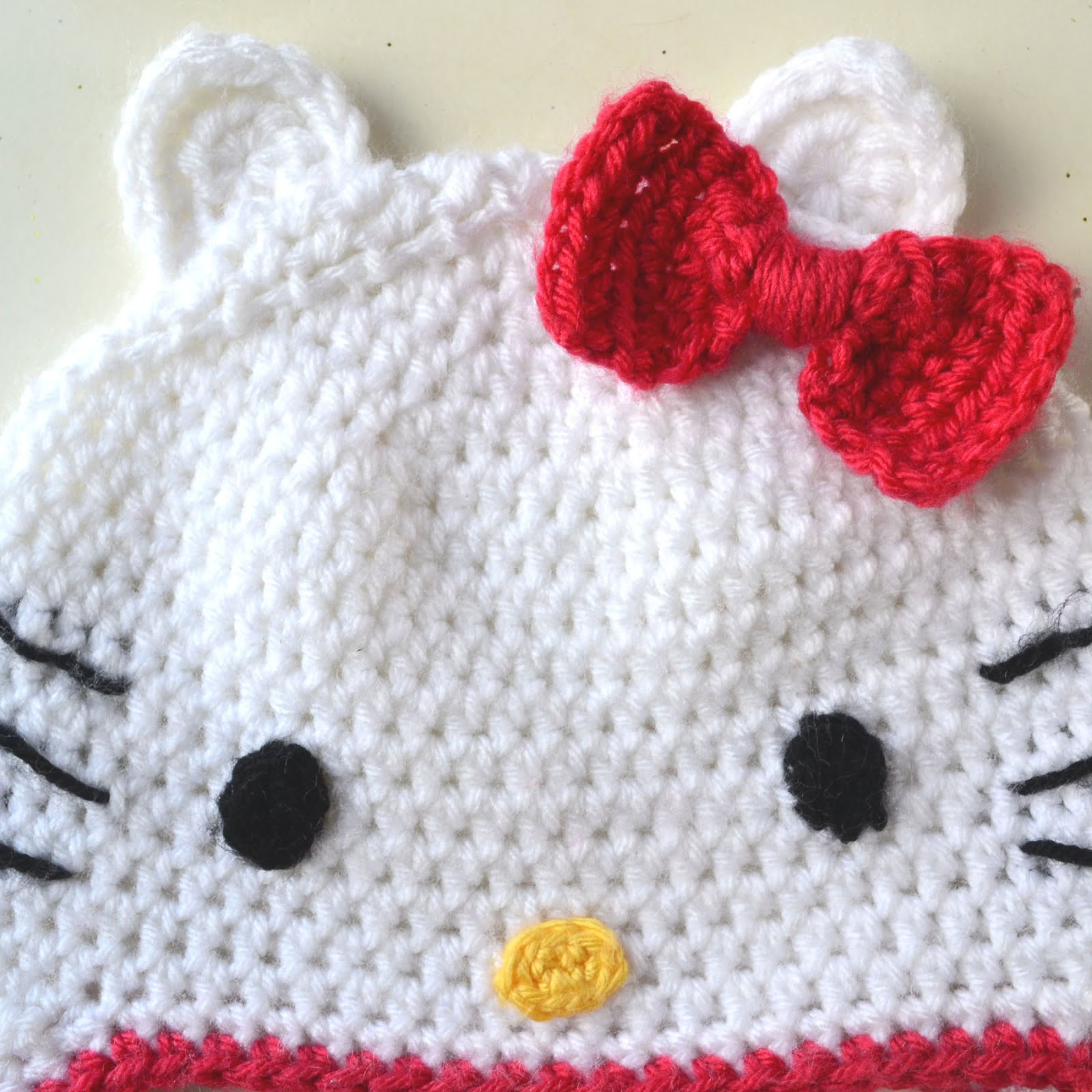 Best Of Crochet In Color Hello Kitty Hat Pattern Hello Kitty Crochet Pattern Of Luxury 47 Images Hello Kitty Crochet Pattern