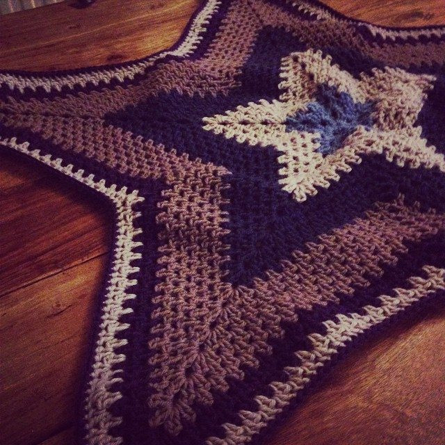 Best Of Crochet Inspiration Ripple Star Blankets 27 Patterns and Crochet Star Blanket Of Superb 49 Images Crochet Star Blanket