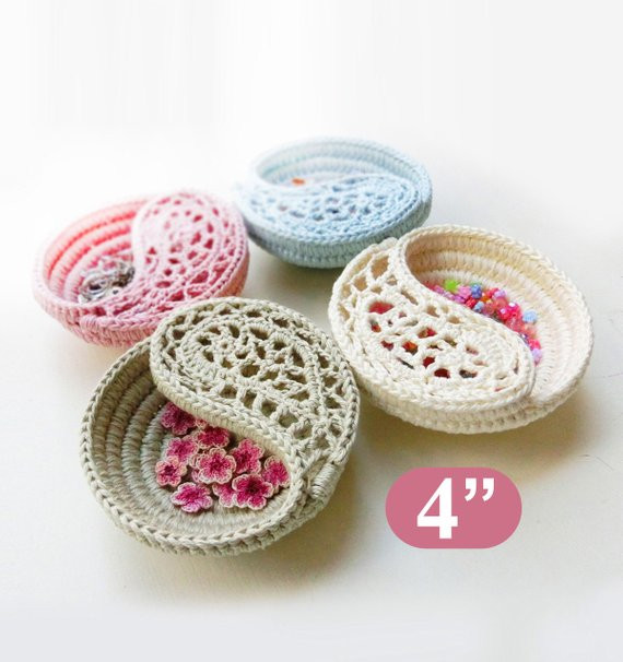 Best Of Crochet Pattern 4 Yin Yang Jewelry Dish Ring Dish Crochet Baby Gift Of Innovative 49 Models Crochet Baby Gift