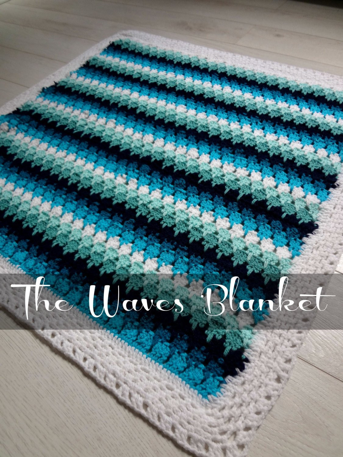 Best Of Crochet Pattern Baby Blanket Waves and Pebbles Crochet Wave Crochet Pattern Of Unique 40 Models Wave Crochet Pattern