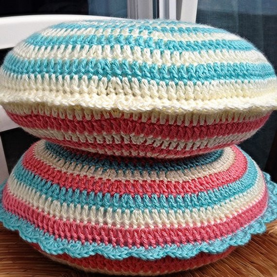 Best Of Crochet Pattern Cupcake Cushion Pillow Round 14 In Step by Crochet Round Pillow Of Contemporary 43 Models Crochet Round Pillow