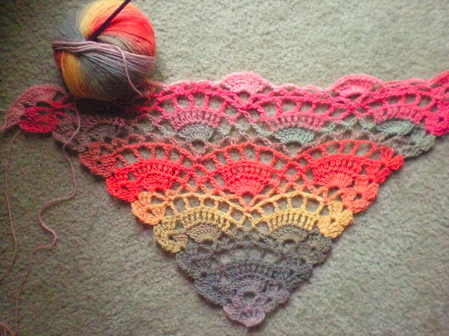 Best Of Crochet Pattern for A Shawl Free Crochet Triangle Shawl Patterns Of Incredible 47 Models Free Crochet Triangle Shawl Patterns