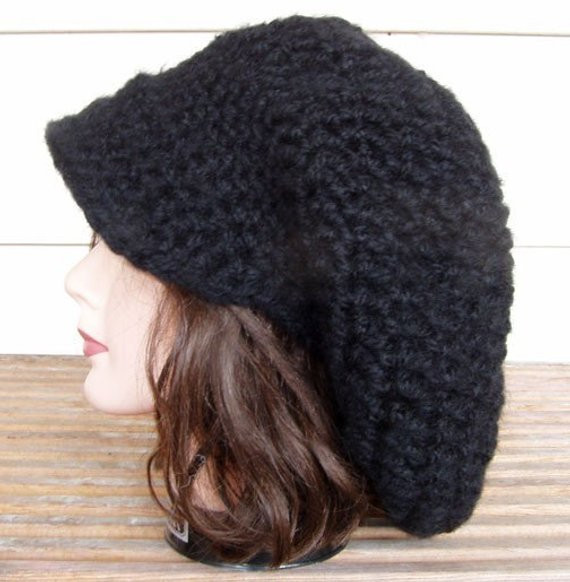 Best Of Crochet Pattern for Slouchy Tam Hat with or without Brim Pdf Crochet Rasta Hat Free Pattern Of Wonderful 45 Pictures Crochet Rasta Hat Free Pattern