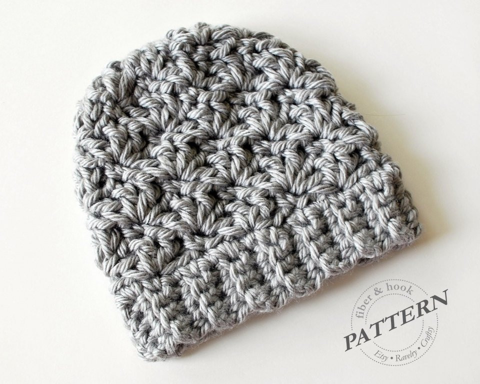 Best Of Crochet Pattern Newcastle Chunky Beanie Chunky Hat Pattern Chunky Crochet Beanie Pattern Of Lovely Crochet Hat Pattern Chunky Back Loop Beanie Uni Chunky Crochet Beanie Pattern
