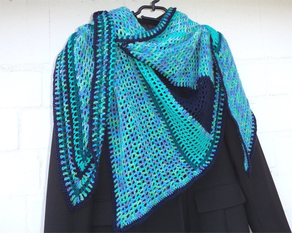 "Best Of Crochet Pattern ""color Trip"" asymmetric Triangle Shawl asymmetrical Shawl Of Fresh 43 Images asymmetrical Shawl"