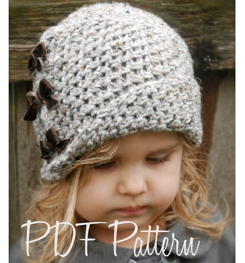 Best Of Crochet Pattern the Paiyton Cloche toddler Child and Crochet Cloche Hat Of Lovely 48 Pics Crochet Cloche Hat
