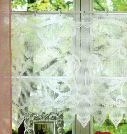 Best Of Crochet Patterns for Kitchen Curtains Pakbit for Crochet Curtain Patterns Of Contemporary 49 Ideas Crochet Curtain Patterns