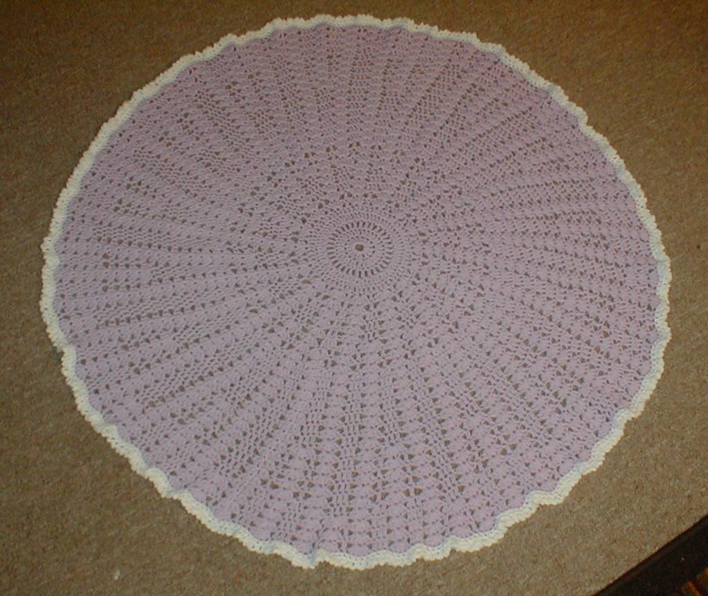 Best Of Crochet Patterns for Round Baby Blankets Dancox for Round Crochet Blanket Pattern Of Wonderful 41 Models Round Crochet Blanket Pattern
