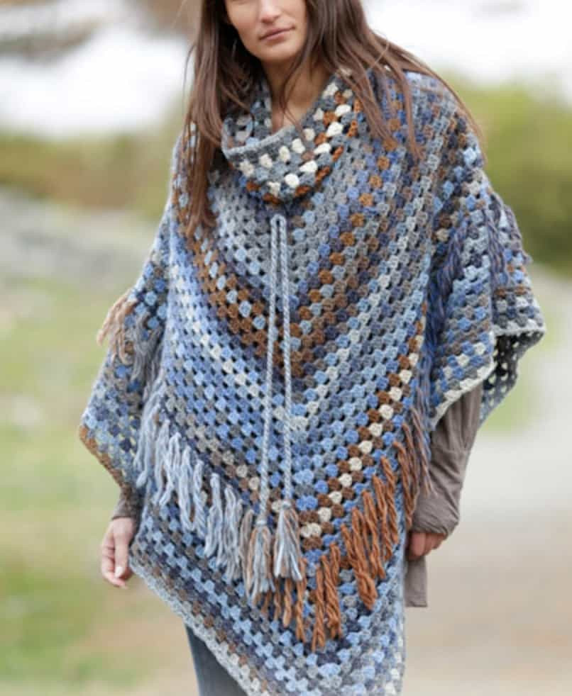 Best Of Crochet Poncho Ponco Crochet Of Great 49 Images Ponco Crochet
