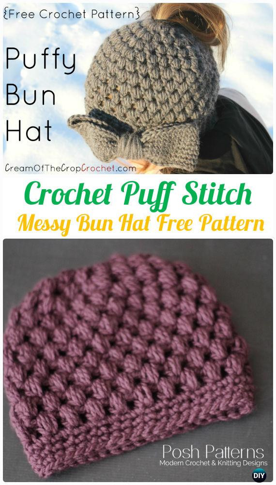 Best Of Crochet Ponytail Messy Bun Hat Free Patterns [instructions] Messy Bun Beanie Free Pattern Of Incredible 44 Pics Messy Bun Beanie Free Pattern