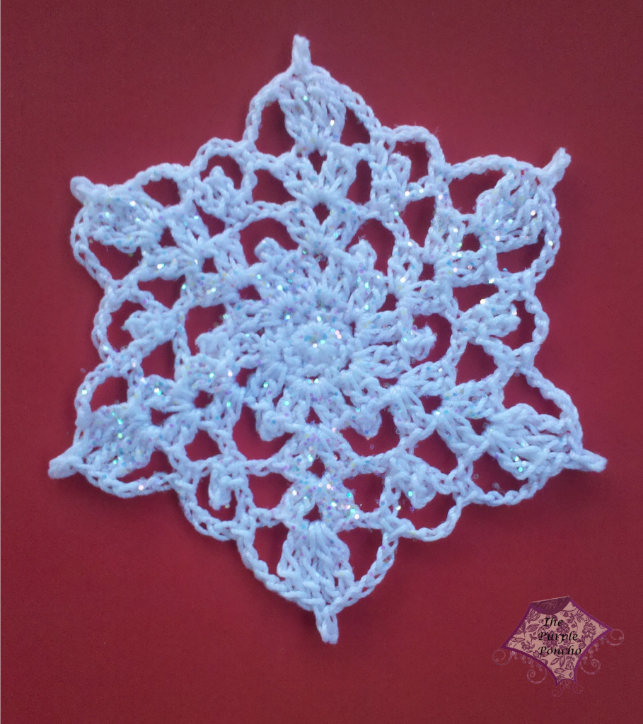 Best Of Crochet Snowflake – the Purple Poncho Crochet ornament Patterns Of Beautiful 40 Pictures Crochet ornament Patterns