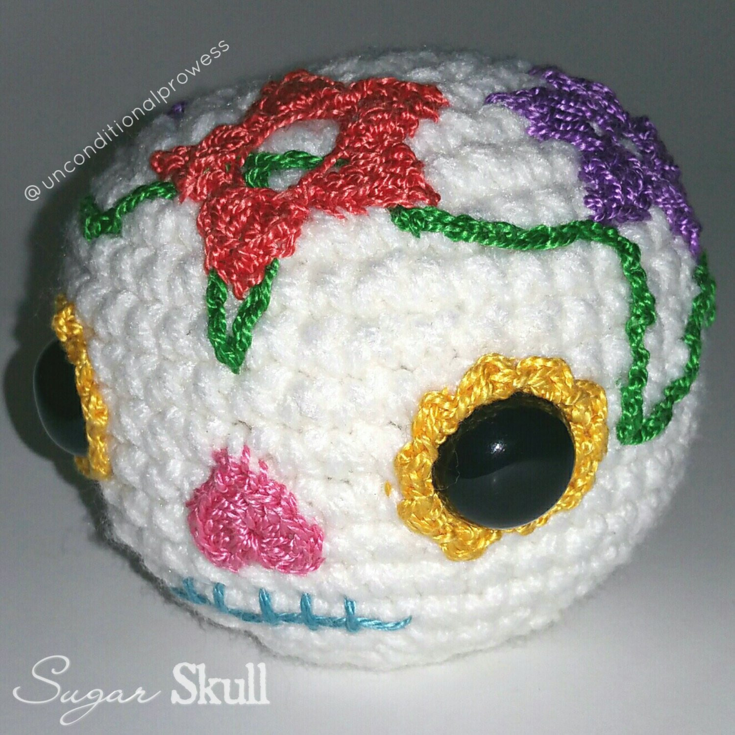 Best Of Crochet Sugar Skull Candy Skull Handmade Amigurumi Crochet Sugar Skull Of Incredible 47 Pictures Crochet Sugar Skull